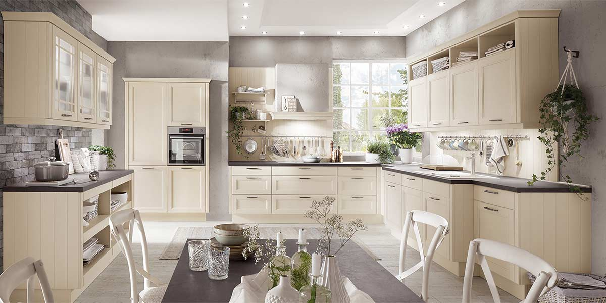 Modern Cottage Kitchens Fitted Cottage Kitchens From Bon