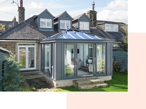 An extension with planning permission
